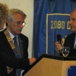 Il dr. Pier Giuseppe Rossini interviene nella discussione aperta al termine della relazione della relatrice