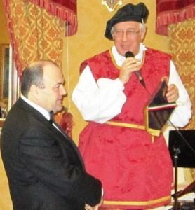 Il Presidente con il  Maestro Augusto Mastrantoni